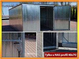 3x5 profil ocynk + biały dach GRATIS!!!
