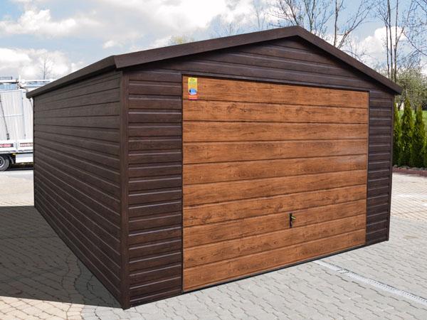 Nowość Producent garaży blaszanych bram garażowych garaże blaszaki EM81